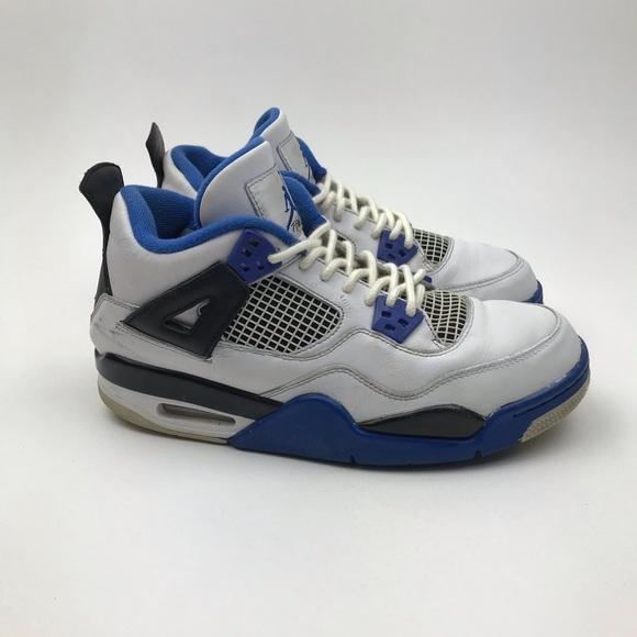 newest collection 2c051 3bc82 Nike Air Jordan 4 Retro Motorsport 408452-117 7Y